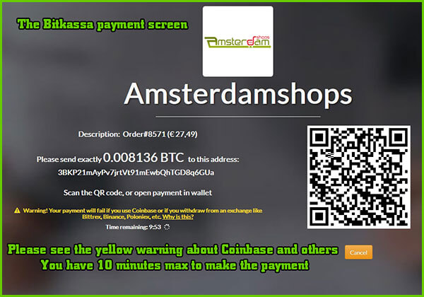 bitcoin payment screen amsterdamshops