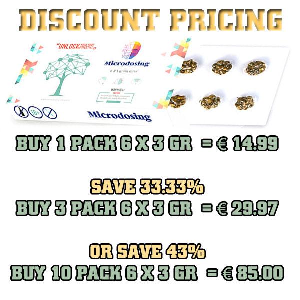 microdosing discount bulk pricing